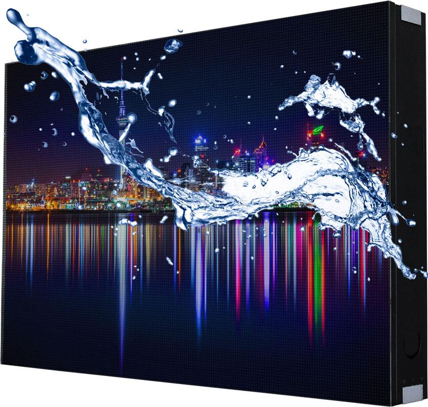 οθονη λεντ αδιαβροχη waterproof led εξωτερικη outdoor screen skyled