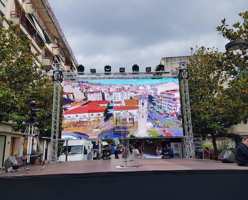 rent led wall screen display colour concerts outdoor activities exhibition ενοικίαση οθόνης λεντ led συναυλιες εκδηλώσεις εξωτερικού χώρου